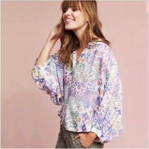Maeve/Anthropologie Brynna Dolman Top Size M